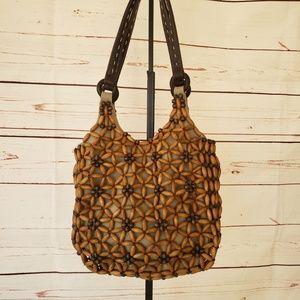 Nine west vintage boho art deco purse handbag